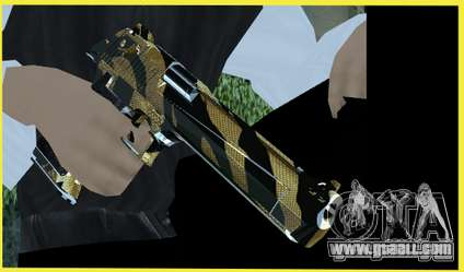 Tiger Weapon Pack for GTA San Andreas second screenshot