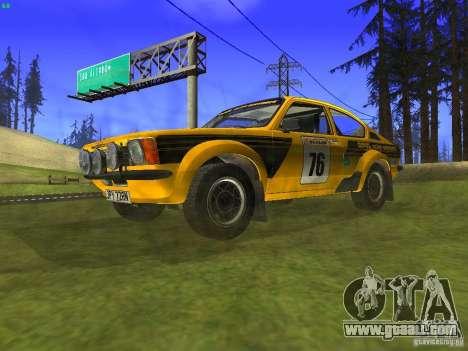 Opel Kadett for GTA San Andreas