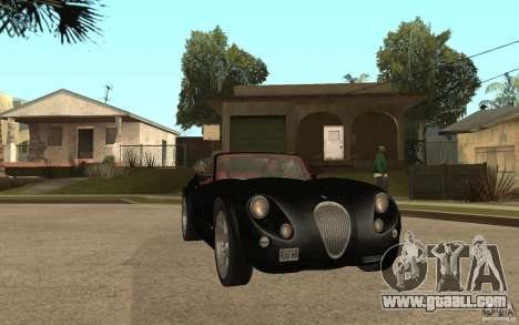 Wiesmann Roadster MF3 for GTA San Andreas back view
