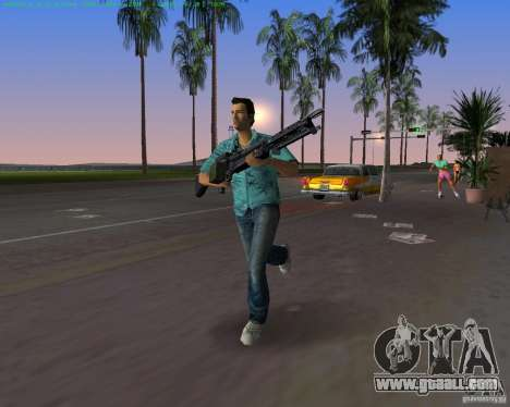 The new M-60 for GTA Vice City fifth screenshot