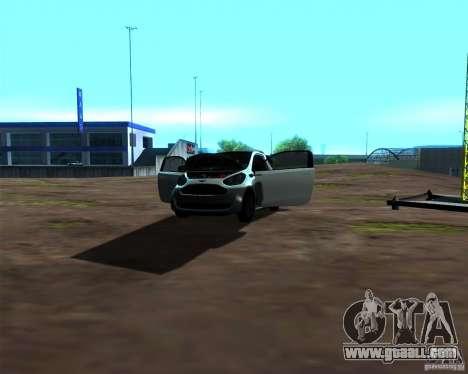 Aston Martin Cygnet for GTA San Andreas side view