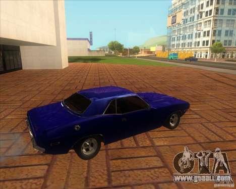 Dodge Challenger RT Hemi for GTA San Andreas left view
