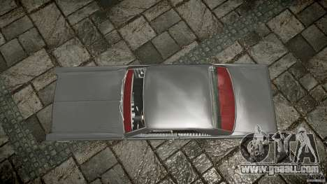 Ford Mercury Comet Caliente Sedan 1965 for GTA 4 right view