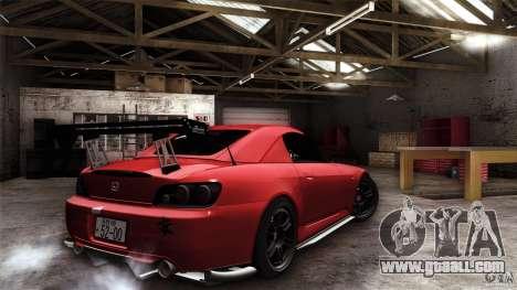 Honda S2000 JDM for GTA San Andreas interior