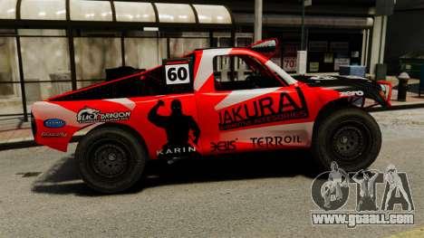 Toyota Tundra Karin Sahara v3.0 for GTA 4 left view