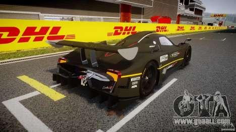 Pagani Zonda R 2009 for GTA 4 side view