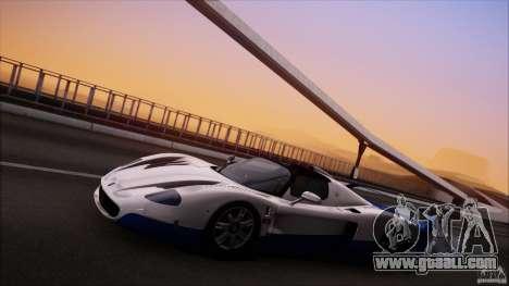 Maserati MC12 V1.0 for GTA San Andreas side view