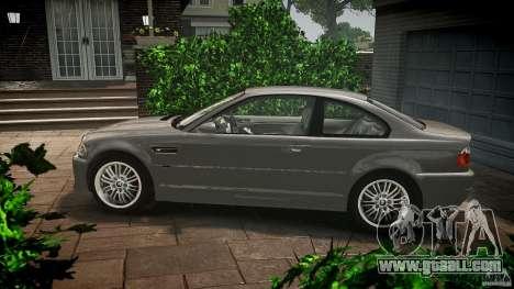 BMW M3 e46 v1.1 for GTA 4 left view