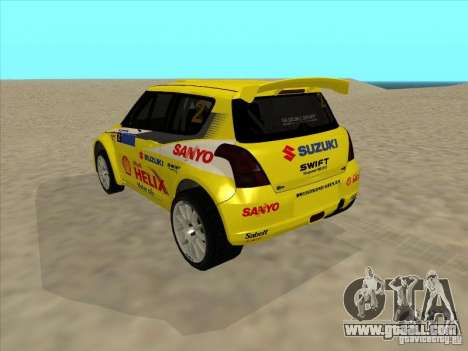 Suzuki Rally Car for GTA San Andreas left view