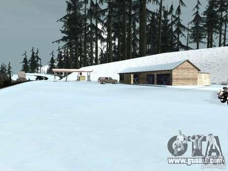 Winter for GTA San Andreas tenth screenshot