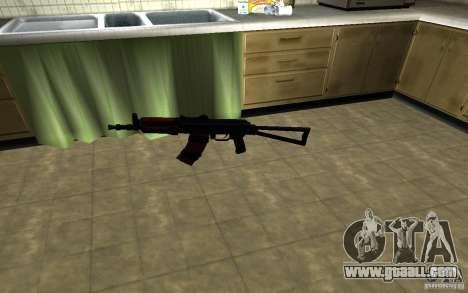 AK-74U for GTA San Andreas second screenshot