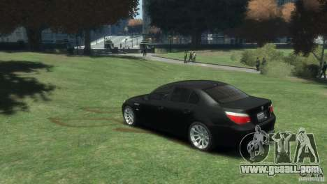 BMW M5 for GTA 4 left view
