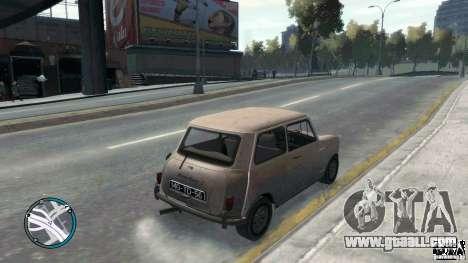 Mini Cooper S for GTA 4 left view