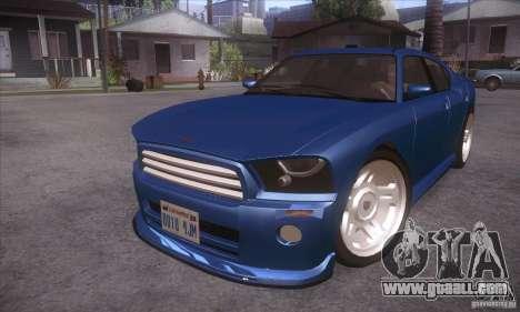 GTA IV Buffalo for GTA San Andreas