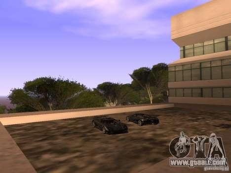 Koenigsegg CCXR Edition for GTA San Andreas wheels