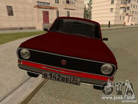 Volga GAZ 24-10 for GTA San Andreas