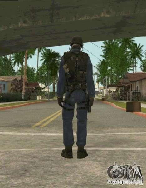 Counter-terrorist for GTA San Andreas third screenshot