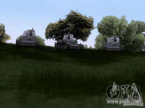Pzkpfw-38 [t] for GTA San Andreas right view