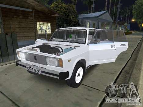 VAZ 2104 for GTA San Andreas back view