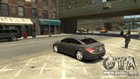 Hyundai Sonata for GTA 4 left view