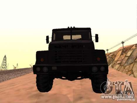 KrAZ 260V for GTA San Andreas left view