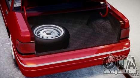 Mercury Tracer 1993 v1.0 for GTA 4 back view