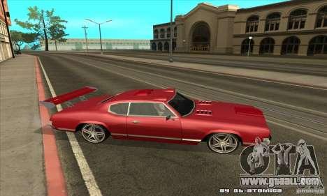 Sabre Drift for GTA San Andreas right view