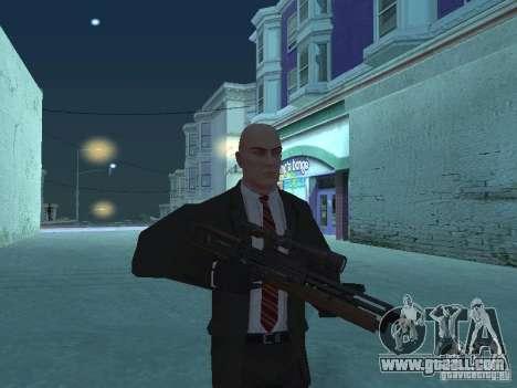 WALTHER 2000 HD for GTA San Andreas third screenshot
