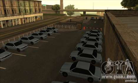 Renewal of driving schools in San Fierro for GTA San Andreas second screenshot