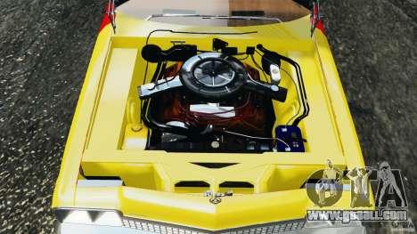 Dodge Monaco 1974 Taxi v1.0 for GTA 4 upper view