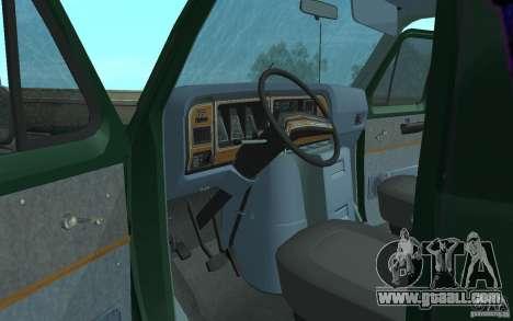 Ford E-150 Short Version v4 for GTA San Andreas back view