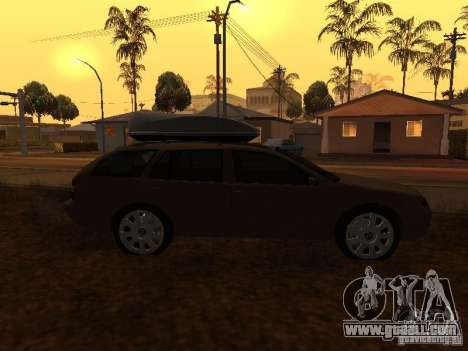 Skoda Octavia for GTA San Andreas side view