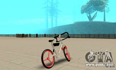 Wind Solar MT Bike for GTA San Andreas left view