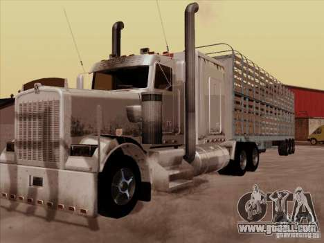 Kenworth W 900 RoadTrain for GTA San Andreas