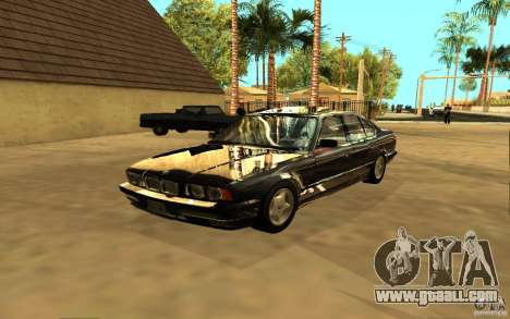 BMW 525 (E34) for GTA San Andreas right view