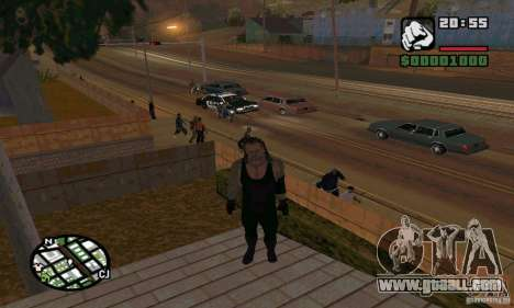 The undertaker from Smackdown 2 for GTA San Andreas sixth screenshot