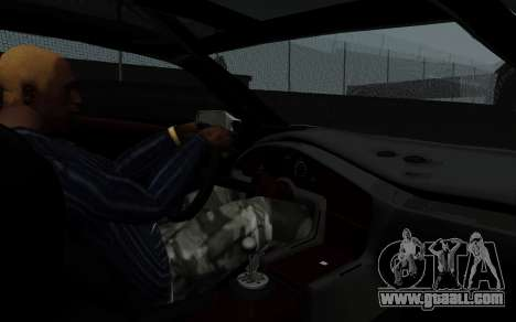 Lamborghini Diablo GTR TT Black Revel for GTA San Andreas back view