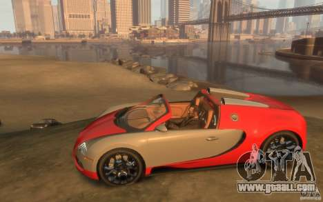 2009 Bugatti Veyron Grand Sport [EPM] for GTA 4 left view