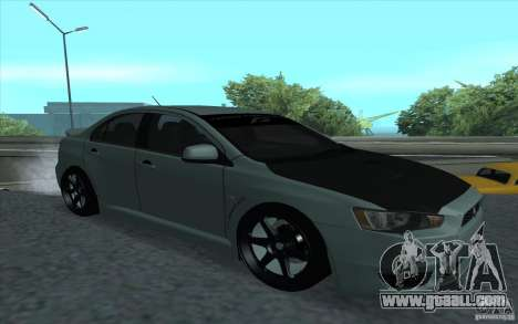 Proton Inspira Stance for GTA San Andreas back view