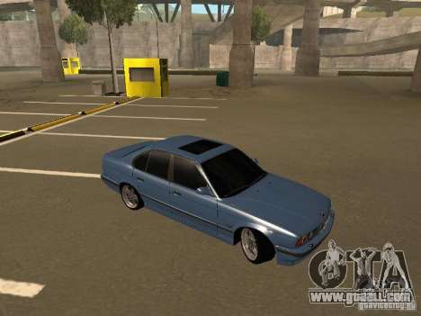 BMW E34 M5 for GTA San Andreas right view