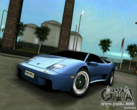 Lamborghini Diablo for GTA Vice City