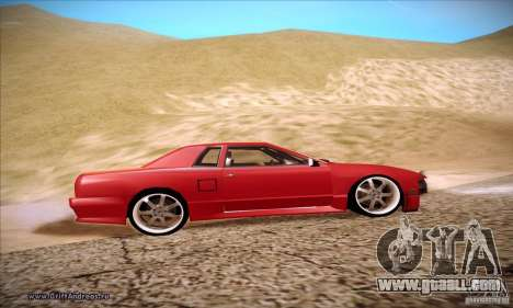 Elegy 180SX for GTA San Andreas back view
