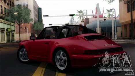 Porsche 911 Carrera 4 Targa (964) 1989 for GTA San Andreas wheels