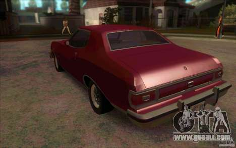 Ford Torino for GTA San Andreas back left view
