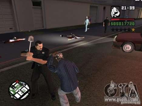 Toilet Brush for GTA San Andreas second screenshot