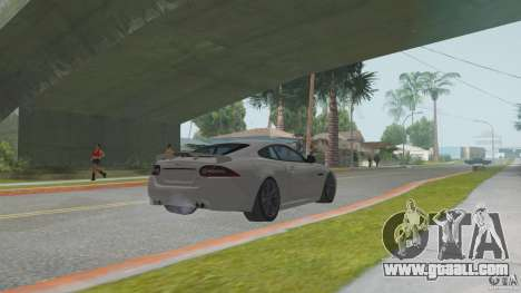 Jaguar XKR-S for GTA San Andreas right view