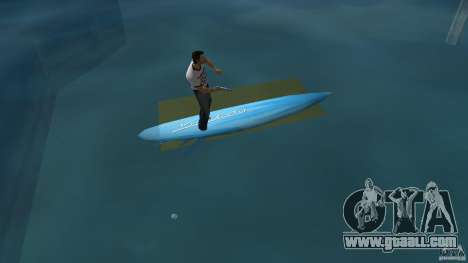Surfboard 3 for GTA Vice City back left view