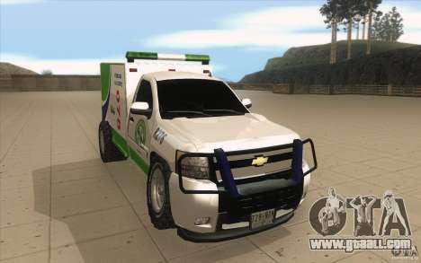 Chevrolet Suburban for GTA San Andreas back view