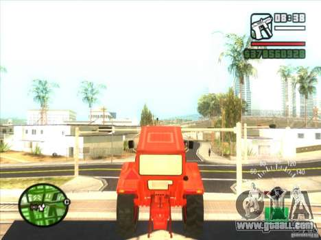 Tractor for GTA San Andreas right view