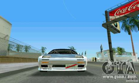 Mazda Savanna RX-7 FC3S for GTA Vice City inner view